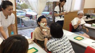 沖縄校55期は、先週はクレイと調香の授業でした。